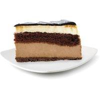 Bake Shop Bake Shop - Tuxedo Layered Cheesecake Slice, 1 Each