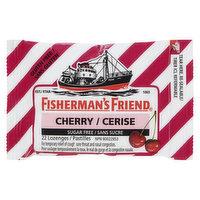 Fisherman's Friend - Lozenges - Cherry Sucrose Free, 22 Each