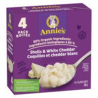 Annie's - Macaroni & Cheese - Shells & White Cheddar