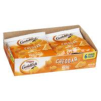 Pepperidge Farm - Goldfish Crackers Snack Packs - Cheddar, 6 Each