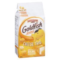 Pepperidge Farm - Goldfish Crackers - Cheese Trio, 200 Gram