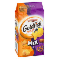 Pepperidge Farm - PF Mixup Extra Chddr Pretzel Goldfish, 180 Gram