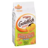 Pepperidge Farm - Goldfish Crackers - Veggies & Fruits Cheddar, 180 Gram