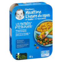 Gerber - Lil' Entrees Macaroni & Cheese with Peas Carrots