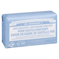 Dr. Bronner's - Pure Castile Baby Soap Unscented