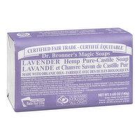 Dr. Bronner's - Magic Soaps Lavender Hemp Pure Castile, 140 Gram
