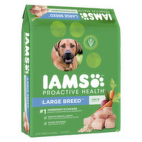 Delivers big with balanced nutrition & natural sources of glucosamine to support healthy joints to help your big dog seize the day. With high quality protein for large adult dogs aged 50+lbs, 1-5 Year