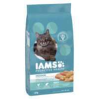 This indoor cat food helps maintain a healthy weight with fat metabolizing L-Carnitine and minimizes hairballs with a targeted fiber systemkeeping your cat ready to pounce.