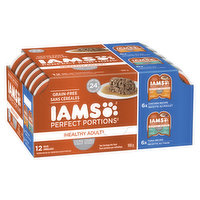 Iams - Wet Cat Food - Perfect Portions Chicken & Tuna, 12 Each