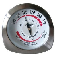 "Measures: 5"" x 2.5"" x 2.25 / 13cm x 6cm x 5.5cm. High quality, heavy duty thermometer with an easy to read dial face. Easy to use."