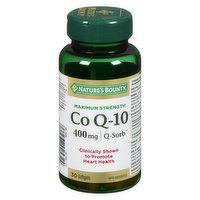 Nature's Bounty - Co Q-10 400mg Q-Sorb, 30 Each