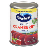 Enjoy the tangy, sweet taste of our jellied Cranberry Sauce