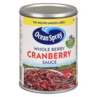 Ocean Spray - Cranberry Sauce - Whole Berry, 348 Millilitre