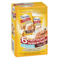 Delectables - Lickable Stew Variety Pack, 240 Gram