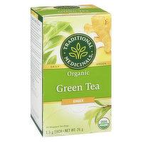 Traditional Medicinals - Organic Green Tea Ginger, 20 Each