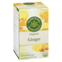 Traditional Medicinals - Organic Ginger, 20 Each