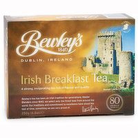 A Strong, Invigorating Tea Rich in flavour and Quality.  Authentic Bewley's Tea from Ireland.80 tea bags per box