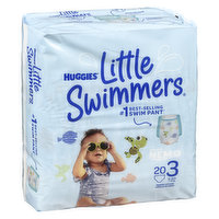 Huggies - Little Swimmers Disposable Swimpants - Small, 20 Each