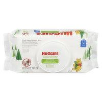 Huggies Huggies - Natural Care Wipes, 56 Each