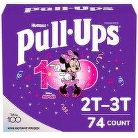 Pull Ups Pull Ups - Learn Design Girls 2T-3T Giga, 74 Each