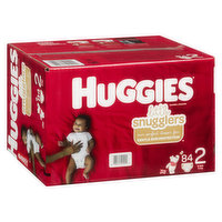 Huggies - Little Snugglers Diapers - Size 2
