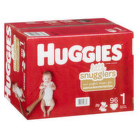 Huggies - Little Snugglers Diapers - Size 1