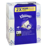 Kleenex - Ultra Soft Facial Tissue - 3Ply Bundle 3