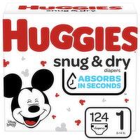 HUGGIES Pull-Ups - Pull-Ups Snug N Dry S1 Giga