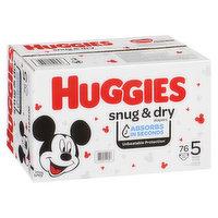 HUGGIES Pull-Ups - Snug N Dry Diapers Size 5
