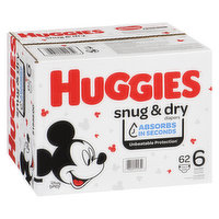 HUGGIES Pull-Ups - Pull-Ups Snug N Dry Giga S6