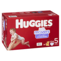 HUGGIES Pull-Ups - Little Movers Mega Colossal - Size 5, 104 Each