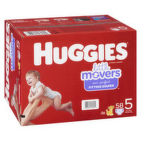 HUGGIES Pull-Ups - Little Movers Giga Jr - Size 5
