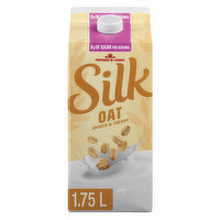 What every oat wants to be when it grows up: rich, unsweetened goodness in a carton. Wave goodbye to added sugar and never look back.60 calories per serving. 0 g of sugar per serving. Canadian grown and harvested oat