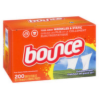 Bounce Bounce - 4in1 Fabric Softener Sheets Outdoor Fresh, 200 Each