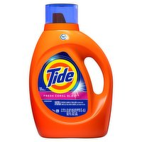 Tide Tide - Liquid 2x Fresh Coral Blast 64 Loads, 2.72 Litre