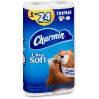 Charmin - Charmin Soft Triple Roll 8 Equal 24 Rl