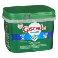 Cascade - Complete Action Pacs Fresh Scent Dawn, 48 Each