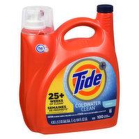 Tide - Liquid Laundry Detergent, Coldwater Clean, 4.55 Litre