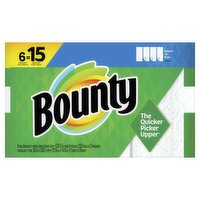 Bounty - Select A Size 6 Rolls Equal 15, 6 Each