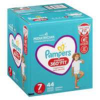 Pampers - Cruisers 360 Diapers - Size 7 Super Pack, 44 Each