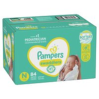 Pampers Pampers - Swaddlers Diapers - Newborn, 84 Each