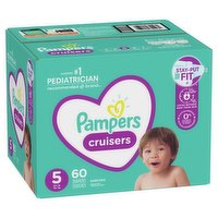 Pampers - Cruisers Diapers - Size 5