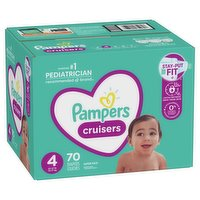Pampers - Cruisers Diapers - Size 4