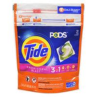 Tide - Pods 3in1 Detergent - Fresh Coral Blast, 31 Each