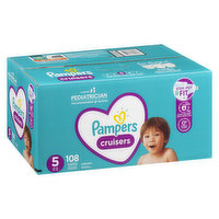 Pampers - Cruisers Diapers - Size 5 Super Economy