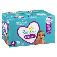 Pampers - Cruisers Diapers - Size 4 Super Economy