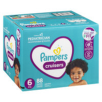 Pampers - Cruisers Diapers - Size 6 Super Economy