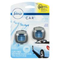 Febreze Febreze - Car Air Freshener Linen and Sky, 2 Each