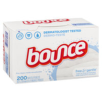 Bounce - Fabric Softner Sheets Free & Gentle