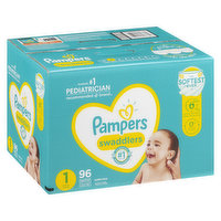 Pampers - Swaddlers Diapers - Size 1 Super Pack, 96 Each